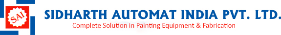 Paint Shop with painting equipments & Paint Booths - Sidharth Automat India